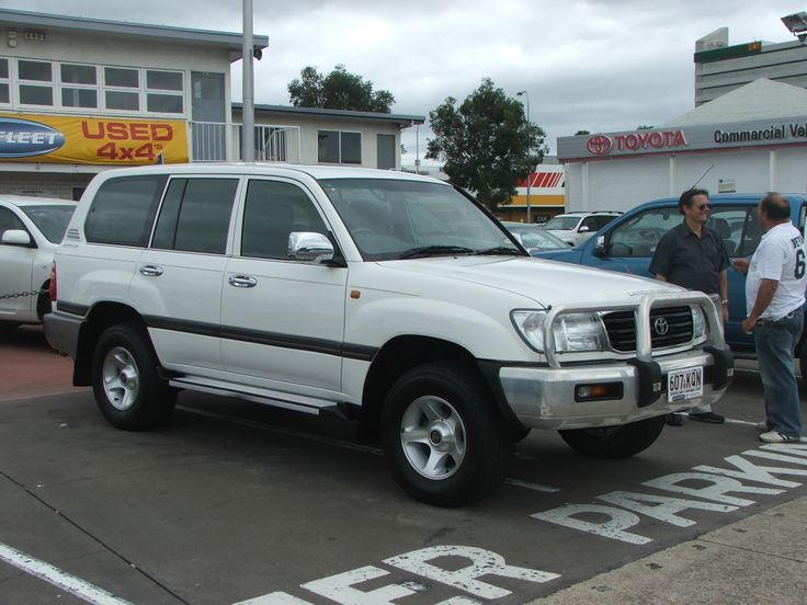 My present car - purchased 2007 - a 2002 100 Series Toyota Landcruiser.