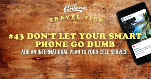 "Make sure your phone is good for more than a tanning alarm on your beach vacay. Simply add a temporary international calling plan or download a few handy apps for voice over Internet calling. Voila! Now you can call in ""sick"" for a few more days of vacay. Darn monkey pox."