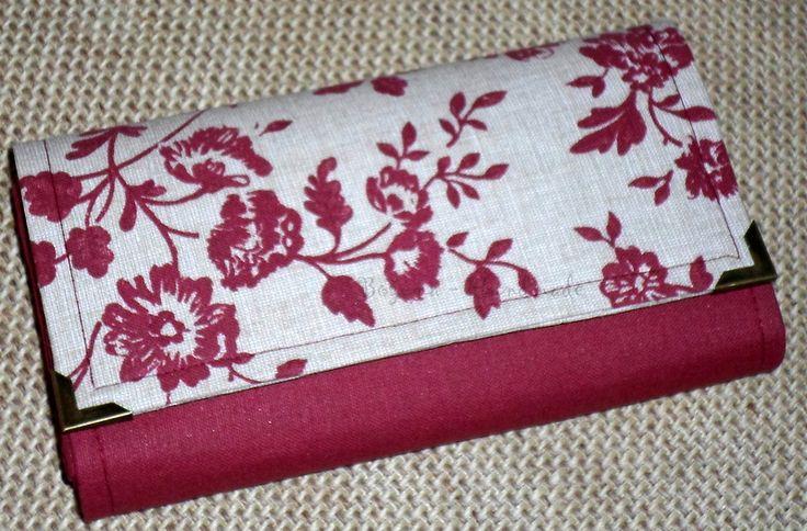 Ručne vyrobená peňaženka z bavlny. Dá sa v prípade nečistenia vyprať