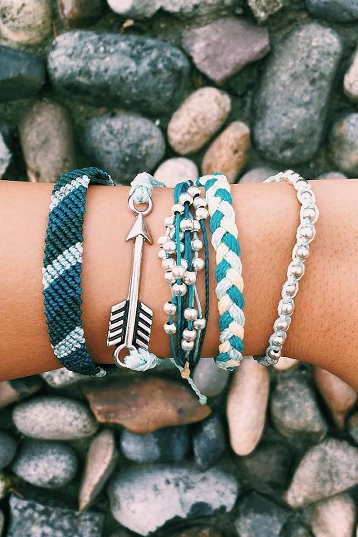 BLUES | Pura Vida Bracelets                                                                                                                                                     Más