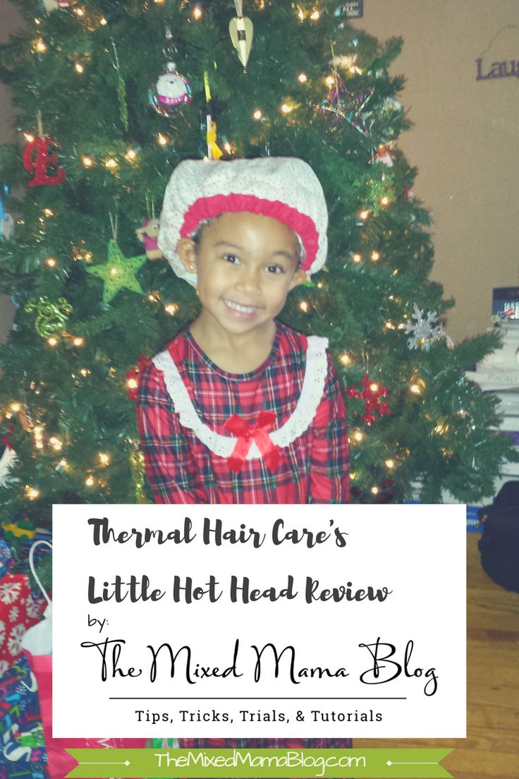 Thermal Hair Care's Little Hot Head Deep Conditioning Heat Cap Review by The Mixed Mama Blog  * * *  Great for natural hair, biracial hair, and curly hair.