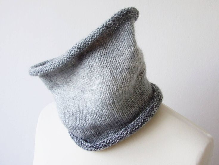 New: handknit cowl in ombre gray with shimmering thread http://etsy.me/2DcfIjW Perfect for sunny winter! #handmade #cowl #ombre #sparklescarf #knitting #etsy #glamfashion #accessories #neckwarmer