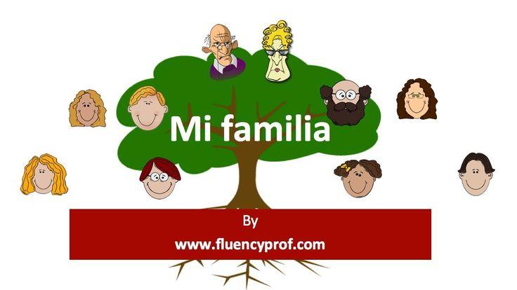 Mi Familiia video - Good intro for the Mi Familia project