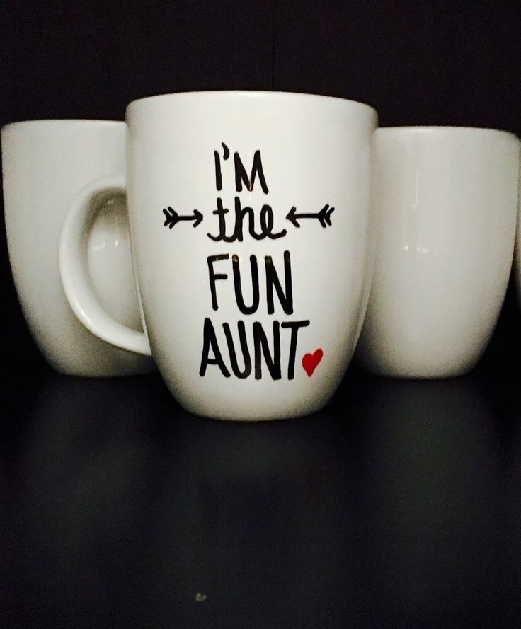 Don't forget your aunt this Mother's Day... A personal favorite from my Etsy shop https://www.etsy.com/listing/277016862/im-the-fun-aunt-coffee-mug-gift-for-aunt