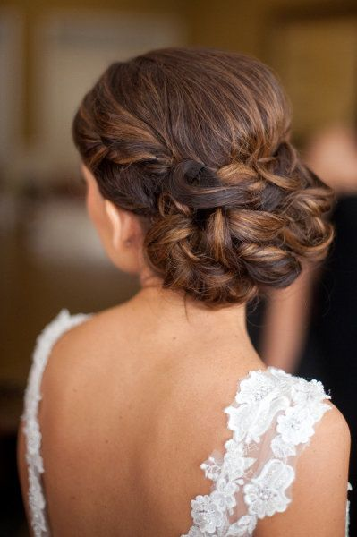 Fancy updo hair