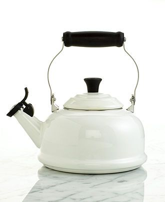 Winter White Registry: Le Creuset Classic Whistling Tea Kettle,