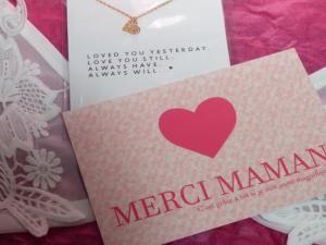 Un joli cadeau pour la fête des mères