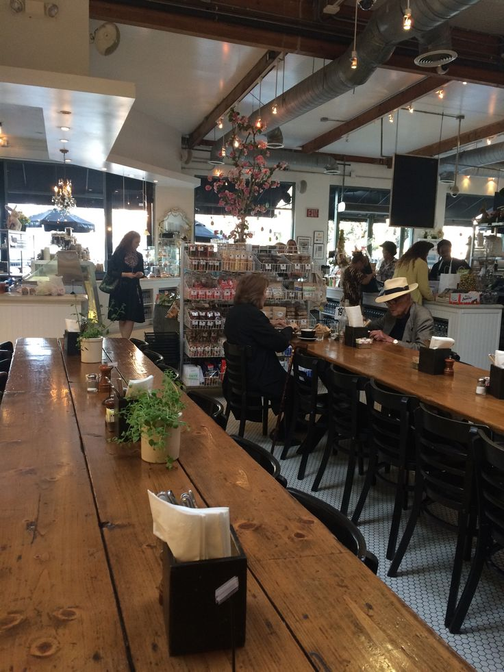 Joan's on Third in Los Angeles, CA | Kind of like the a mini version of New York's Dean and Deluca, great lunch spot