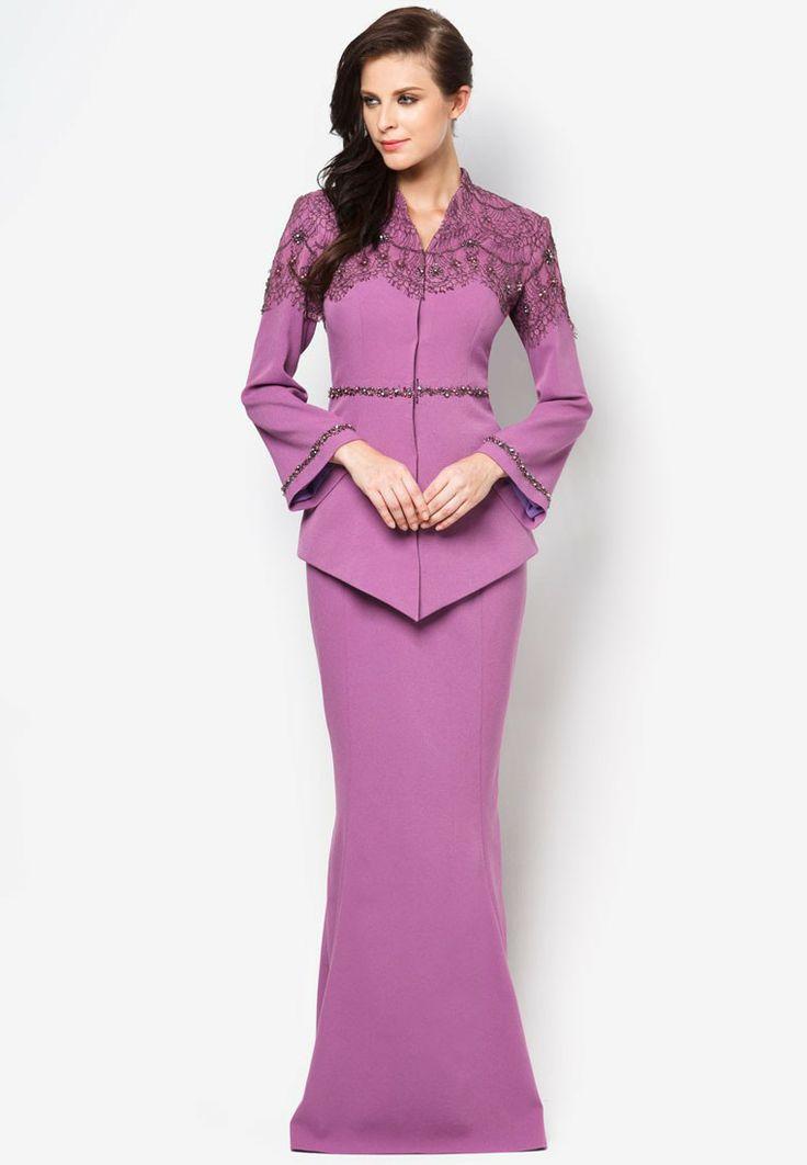 Buy Jovian Mandagie for Zalora Chantilly Cecille Kebaya | ZALORA Malaysia