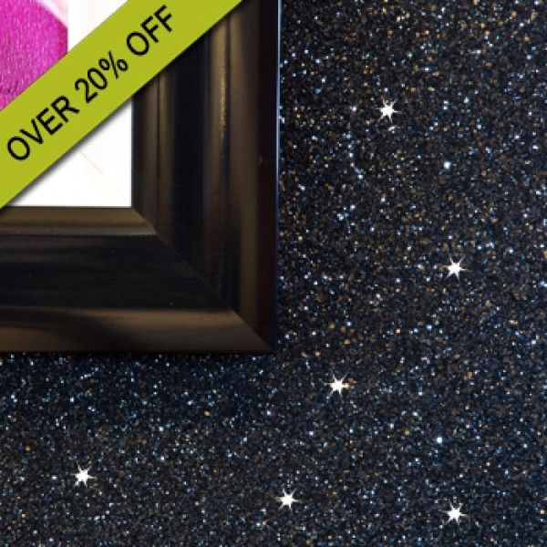 Glitter Wallpaper   Sparkle   Shades Of Silver And Black Glitter  Wallcovering