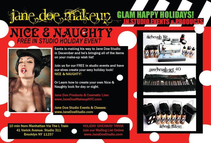 Jane Doe Makeup Studio Blog Announcements, Free Events, Makeup Tips, Product Recommendations, Makeup Classes, Makeup Services & More