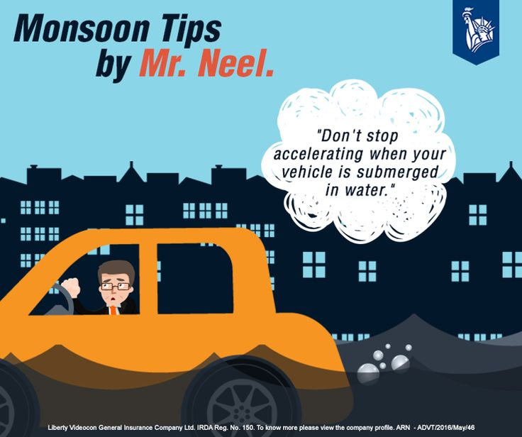 Mr Neel says that if you stop accelerating, your exhaust tends to pull the water inside, this harms your engine.