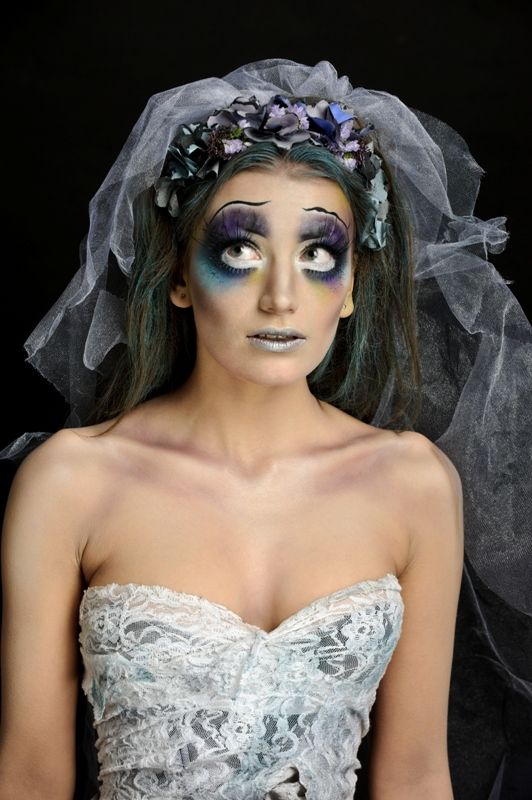 Corpse Bride Photo: Gergely Graff | Makeup & Hair: Dora Graff | Styling: Orsolya Kovacs Model: Panni Jenei