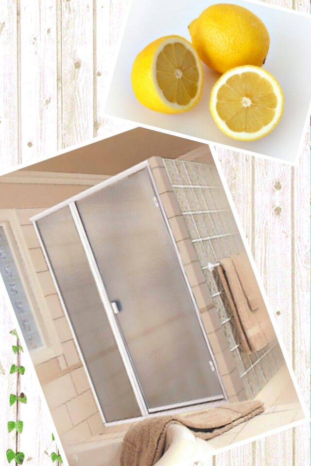 Cleaning Guide How To Clean Your Glass Shower Doors Properly: 13 Best HOW TO CUT SOAP SCUM Images On Pinterest