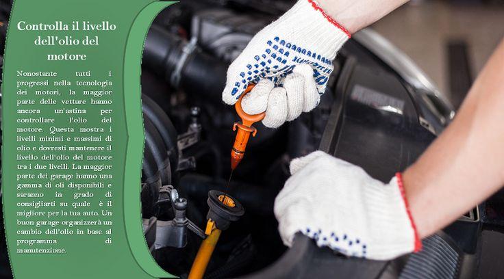 Controlla lo stato ed il livello dell'olio  Se sono passati più di 5.000 km. dal tuo ultimo cambio d'olio, è probabilmente che ti occupi dell'olio e del lubrificante. Il calore intenso causato dalla guida estiva influisce negativamente sugli oli motore. #pneumaticiinvernali