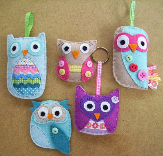 Sew Your Own Owl Kit $24.10