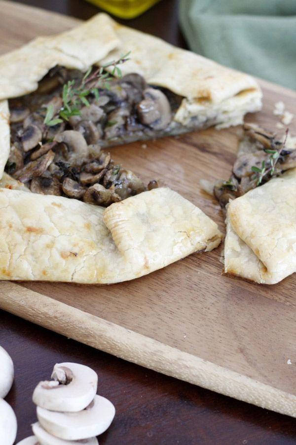 Rustic Mushroom Tart | Mother's Day Inspired Recipe