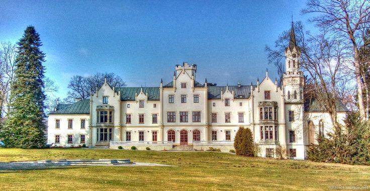 Vráž chateau (South Bohemia), Czechia #castle #chateau #Czechia