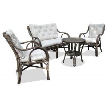 Makita Chair Grey Wash w Cush