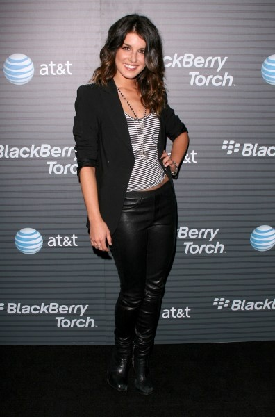 90210 stars at the BlackBerry Torch launch