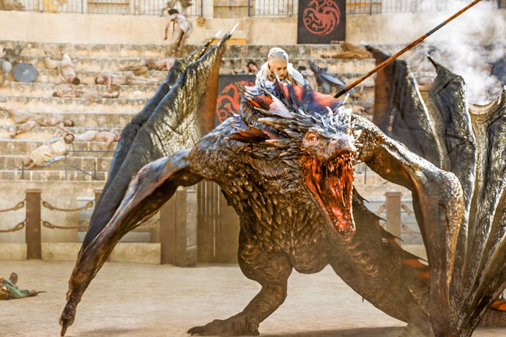 "5.09 ""The Dance of Dragons"" - I've read the books, so I knew that Dany would become a dragon-rider. But I didn't know when they might show that in the series. So it was terribly exciting to see her move towards Drogon and climb onto his back."