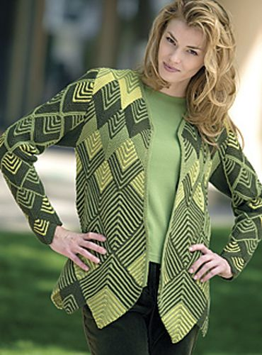 Ravelry: Harlequin Jacket pattern by Jane Slicer-Smith