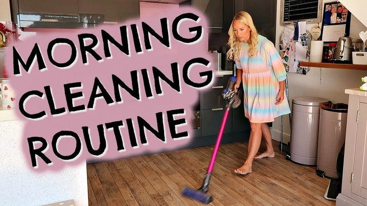 DAILY MORNING CLEANING ROUTINE OF A MOM / MUM  |  SPEED CLEANING