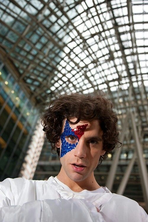 Mika Astronaut in Tokyo 2009 Q Magazine photoshoot (by James Cheadle)