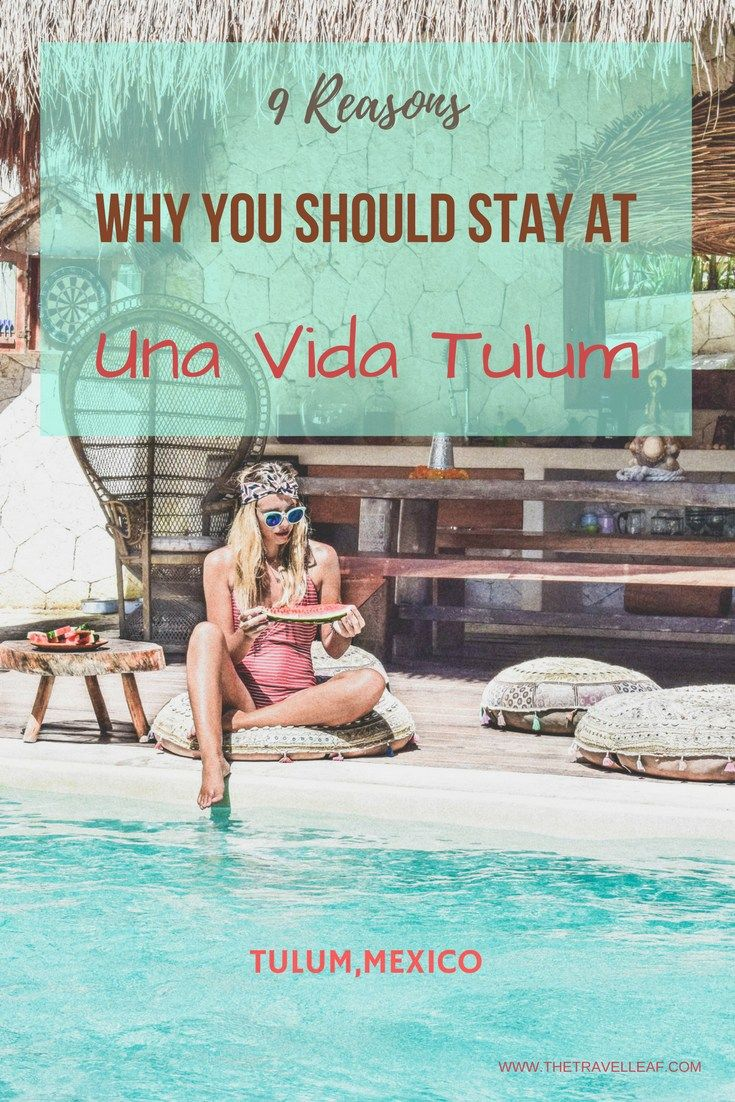 Your boutique jungle sanctuary Una Vida in Tulum, Mexico