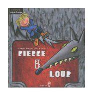 Pierre et le loup de Prokofiev. Dit par François Morel et Olivier Saladin. Dans ce conte musical, chaque personnage (dont plusieurs animaux) est représenté par un instrument.