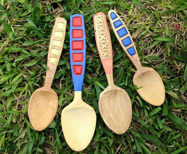 Steven Davidson made these wonderful spoons