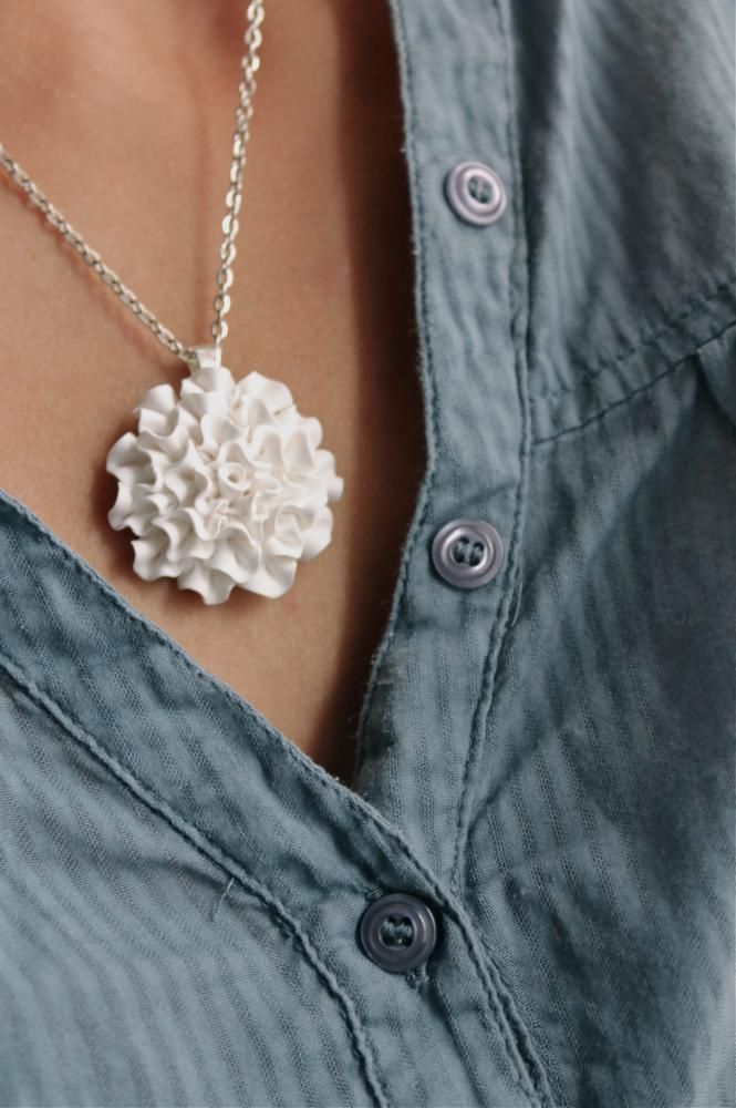 Very pretty - polymer clay necklace
