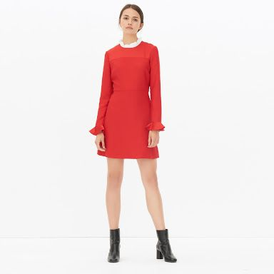 Image result for sandro paris red dress