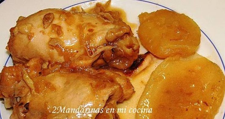 Receta de Contramuslos de pollo con patatas