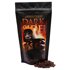 ThinkGeek :: Star Wars Vader's Dark Side Roast Coffee