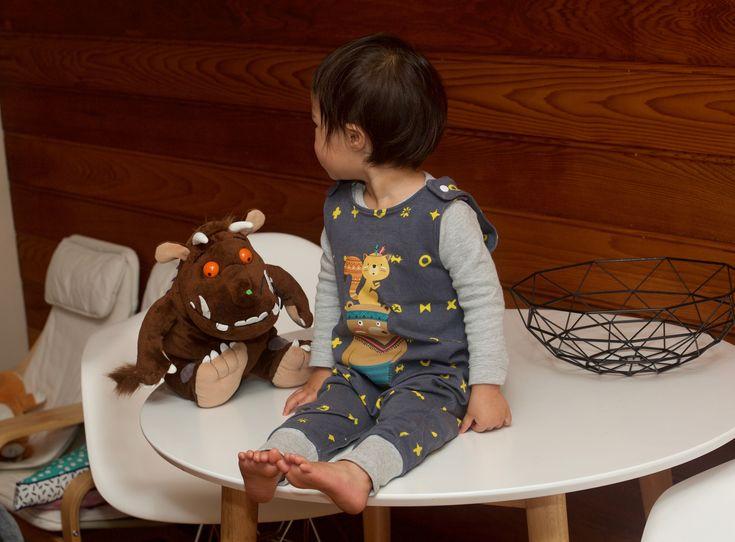 DIY Iron on Kids Jungle Series Bear Lion Fox Animal Set Shirt Clothes Transfers