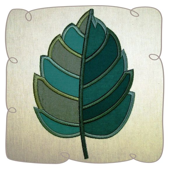 Leaf Applique