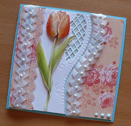 Okay, I pretty much never pin greeting cards or even really look at any DIYs for them, but this one spoke to me. Isn't it just gorgeous?