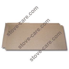 Vermiculite Fire Board - (Half Board) 610mm x 500mm x 25mm    Vermiculite fire boards / bricks are specially manufactured from a group of hydrated laminar minerals silicates.  Vermiculite is a safe odourless inert material and copes with temperatures in excess of 1100 Deg C.    For all the above reasons, vermiculite is used in a handful of refactory process including:    *Wood burning stove insulation  *Barbeques  *Fireplace insulations  *Brazing heath processes  *Horticulture purposes