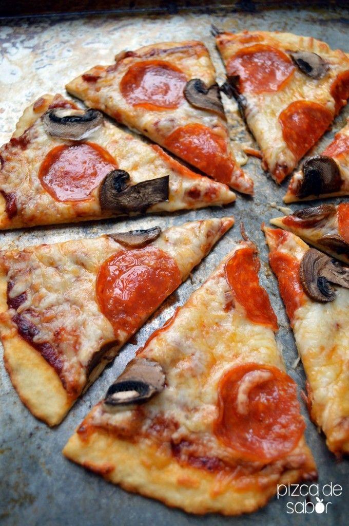 Pizza sin levadura