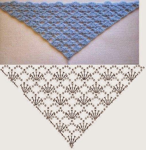 Patterns and motifs: Crocheted motif no. 493