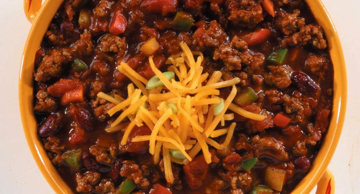 The Big Game Chili - Pretty tasty. I added some jalepenos and didn't use carrots. I doubled the recipe and instead of 2 cans of normal chopped tomatoes I did one can of normal chopped tomatoes and 1 can of Rotel.