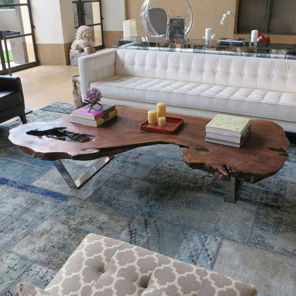 Find This Pin And More On Timber Slab Table Image For Valuable Wood Slab Coffee Table