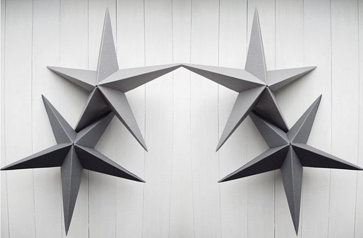 DIY: three dimensional star
