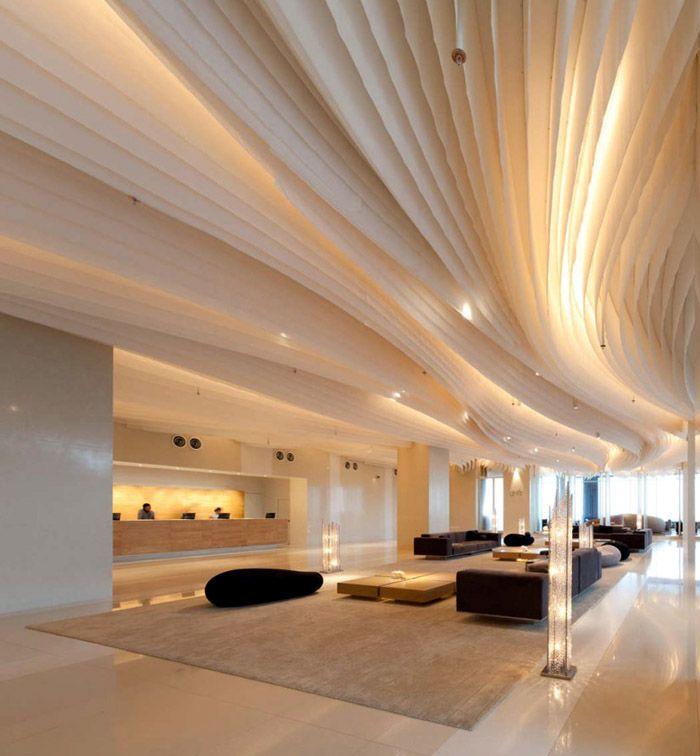 Amazing interior design at hilton pattaya hotel for Amazing hotel design