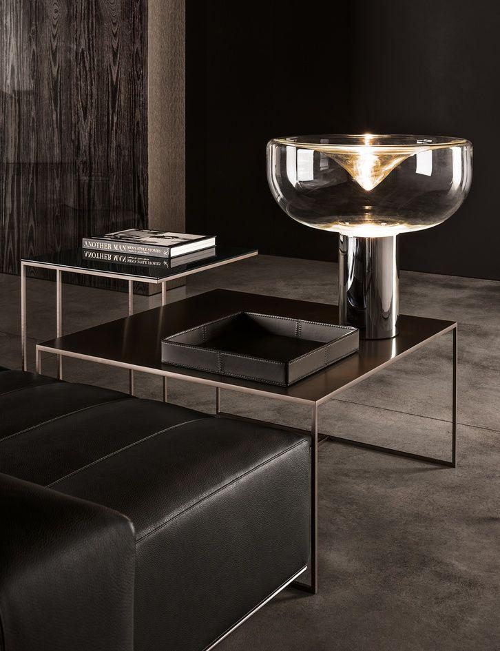 Duchamp Bronze Table By Minotti