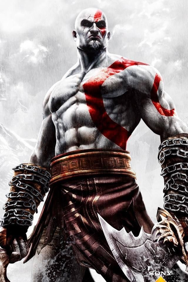 Kratos. He sort of reminds me of Drax from Guardians of the galaxy but just that he's a PlayStation exclusive greek god (: