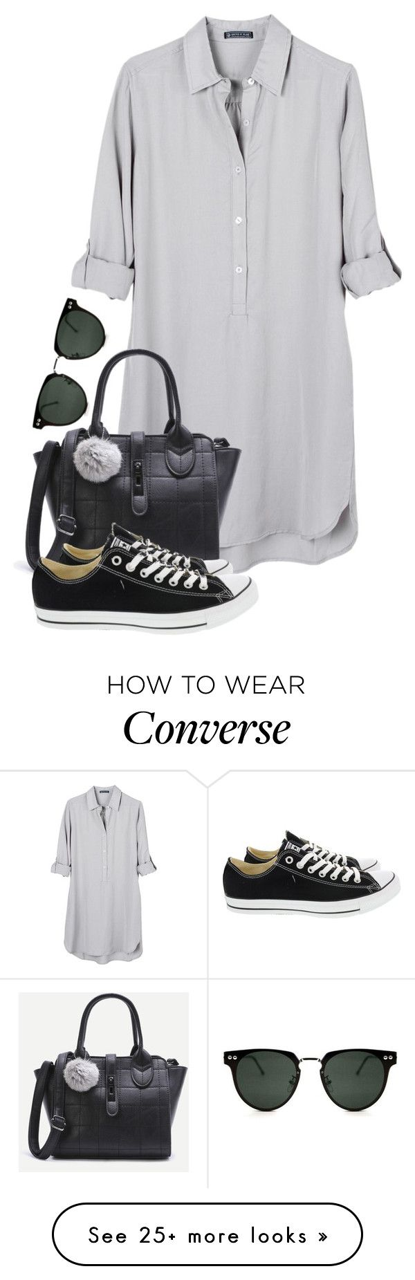 """~433\\433~"" by taytay-55 on Polyvore featuring United by Blue, Converse and Spitfire"