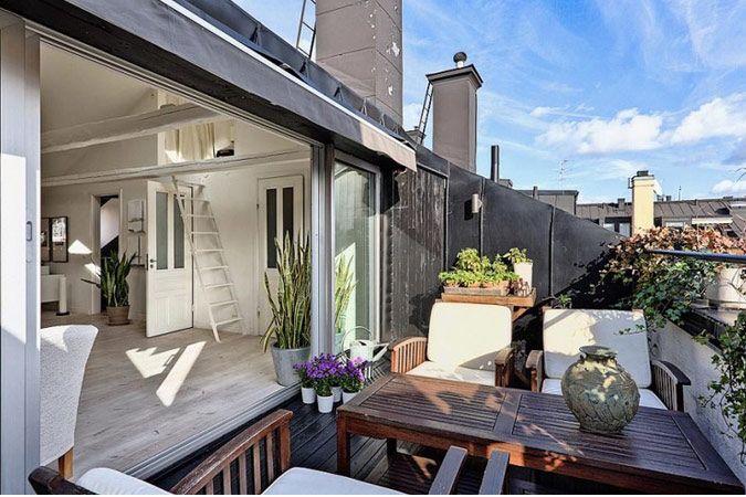 Zolder appartement met dakterras | Binnenkijken