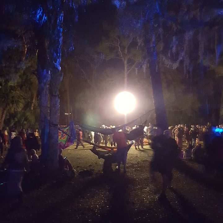 soulmate24.com Giant ghost orb in the middle of the forest... #GAAM